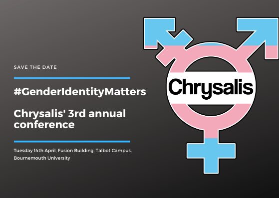 Gender Identity Matters - Chrysalis' 3rd Conference