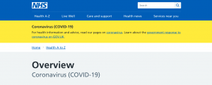 NHS Website Coronavirus-1