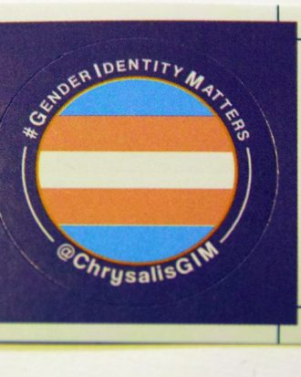 ChrysalisGIM Transgender Sticker