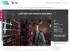 Into Film - LGBT+ History Month